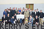 Members of the Kerry farmers hunt club present a cheque for to EUR6000 to the Irish Guide dogs association at their hunt in Killorglin on Sunday.   Copyright Kerry's Eye 2008