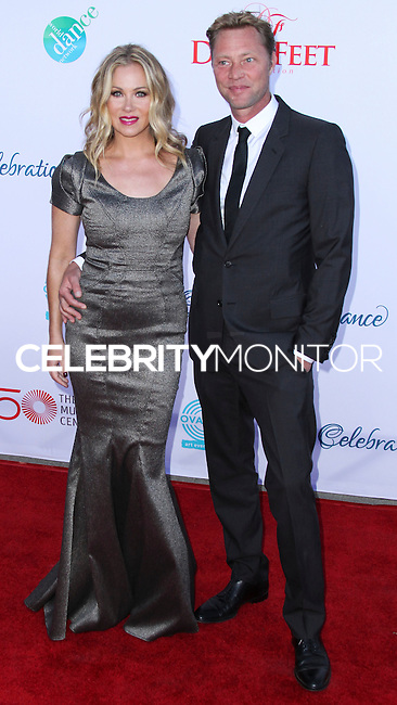 LOS ANGELES, CA, USA - JULY 19: Christina Applegate and Martyn LeNoble arrive at the 4th Annual Celebration Of Dance Gala Presented By The Dizzy Feet Foundation held at the Dorothy Chandler Pavilion at The Music Center on July 19, 2014 in Los Angeles, California, United States. (Photo by Xavier Collin/Celebrity Monitor)