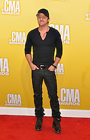 NASHVILLE, TN - NOVEMBER 1: Kip Moore on the Macy's Red Carpet at the 46th Annual CMA Awards at the Bridgestone Arena in Nashville, TN on Nov. 1, 2012. © mpi99/MediaPunch Inc. /NortePhoto .<br />