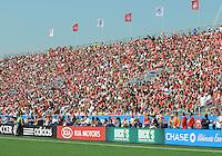 Capacity crowd at BMO Field. Toronto FC 0, Kansas City Wizards 0, BMO Field, Toronto, June 21, 2008.