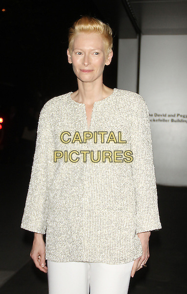 NEW YORK, NY - NOVEMBER 05: Tilda Swinton at the Museum of Modern Art 2013 Film benefit: A Tribute To Tilda Swinton on November 5, 2013 in New York City, NY., USA.<br /> CAP/MPI/RW<br /> &copy;RW/ MediaPunch/Capital Pictures