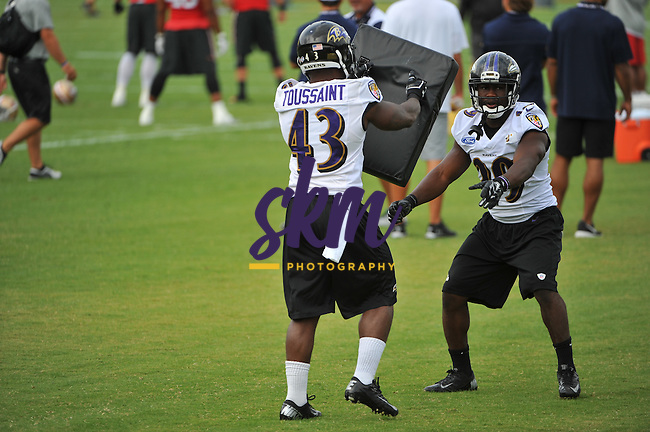 The Ravens hosted their final joint practice with the San Francisco 49'ers at Under Armour Performance Center in Owings Mills on Monday morning.