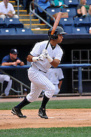Staten Island Yankees short stop Cito Culver #2 during a game against the Tri-City  Valley Cats at Richmond County Bank Ballpark at St. George on July 25, 2011 in Staten Island, NY.  Staten Island defeated Tri-City 2-1.  Tomasso DeRosa/Four Seam Images