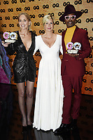 Sharon Stone, Jessica Peppel-Schulz and Billy Porter at the 21st presentation of the GQ Men of the Year Awards 2019 at the Komische Oper. Berlin, November 7, .2019. Credit: Action Press/MediaPunch ***FOR USA ONLY***