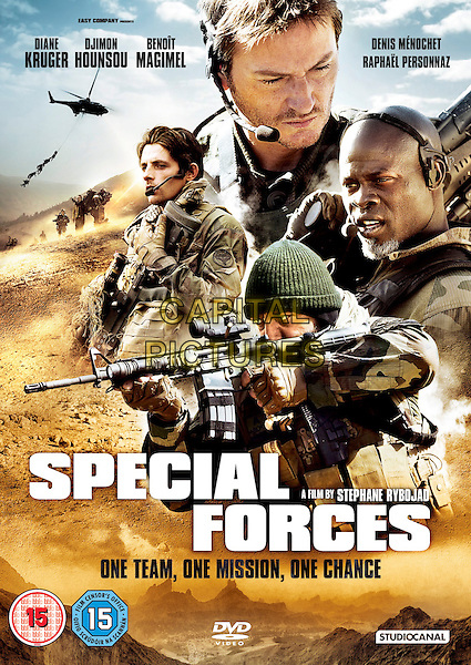 DVD COVER ART<br /> in Special Forces (2011) <br /> (Forces speciales)<br /> *Filmstill - Editorial Use Only*<br /> CAP/NFS<br /> Image supplied by Capital Pictures