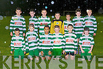The Killarney Celtic team that played Killarney Athletic in the Super Valu U13 Division 1 league in Celtic park last Friday evening