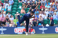 Ravi Bopara in bowling action for Essex during Kent Spitfires vs Essex Eagles, NatWest T20 Blast Cricket at The County Ground on 9th July 2017