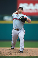 Pawtucket Red Sox pitcher Jess Todd (28) delivers a pitch during a game against the Rochester Red Wings on July 1, 2015 at Frontier Field in Rochester, New York.  Rochester defeated Pawtucket 8-4.  (Mike Janes/Four Seam Images)