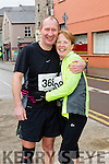 Tony Talbot and Lorna Brassil White runners at the Kerry's Eye Tralee, Tralee International Marathon and Half Marathon on Saturday.