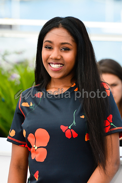 "25 May 2017 - Cannes, France - Taliah Webster. ""Good Time"" Photocall - The 70th Annual Cannes Film Festival. Photo Credit: Jan Sauerwein/face to face/AdMedia"