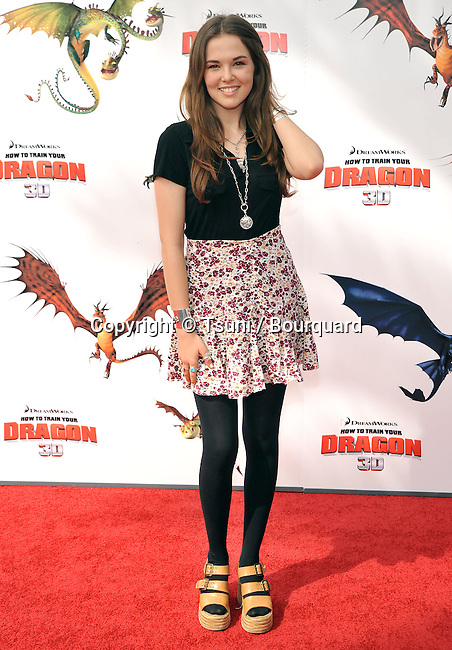 Zoey Deutch _65 - <br /> How To Train Your Dragon premiere at the Universal Amphitheatre In Los Angeles.