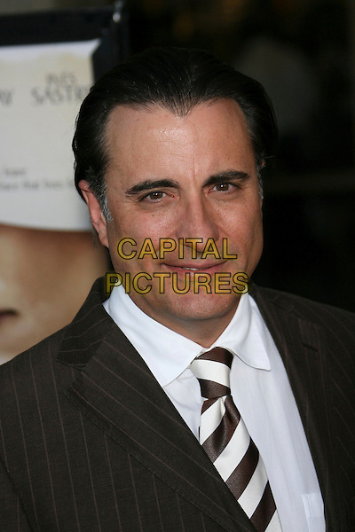 """ANDY GARCIA.""""The Lost City"""" Los Angeles Premiere - Arrivals held at the Arclight, Hollywood, California, USA..April 17th, 2006.Photo: Zach Lipp/AdMedia/Capital Pictures.Ref: ZL/ADM.headshot portrait.www.capitalpictures.com.sales@capitalpictures.com.© Capital Pictures."""