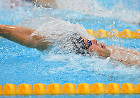 August 04, 2012..Matt Grevers competes in Men's 4x100m Medley Relay at the Aquatics Center on day eight of 2012 Olympic Games in London, United Kingdom.