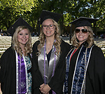 Ashley Crook, Christine Siporen and Kristi Breese during the University of Nevada College of Engineering, College of Science and Orvis School of Nursing graduation ceremony on Thursday evening, May 18, 2017.