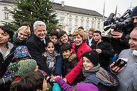 2016/11/25 Bundespräsident Gauck | Weichnachtsmarkt Schloss Bellevue