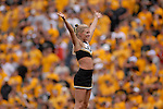 29 September  2007:  University of Colorado Cheerleaders at Folsom Field, Boulder, Colorado.