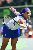 KEY BISCAYNE, FL - MARCH 30: Serena Williams defeats Svetlana Kuznetsova of Russia during day 8 of the Miami Open Presented by Itau at Crandon Park Tennis Center on March 30, 2015 in Key Biscayne, Florida.<br /> <br /> <br /> People:  Svetlana Kuznetsova<br /> <br /> Transmission Ref:  FLXX<br /> <br /> Must call if interested<br /> Michael Storms<br /> Storms Media Group Inc.<br /> 305-632-3400 - Cell<br /> 305-513-5783 - Fax<br /> MikeStorm@aol.com
