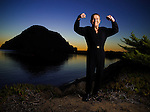 Fitness pioneer Jack La Lanne, 92, photographed near his home in Morro Bay, California on October 18, 2006