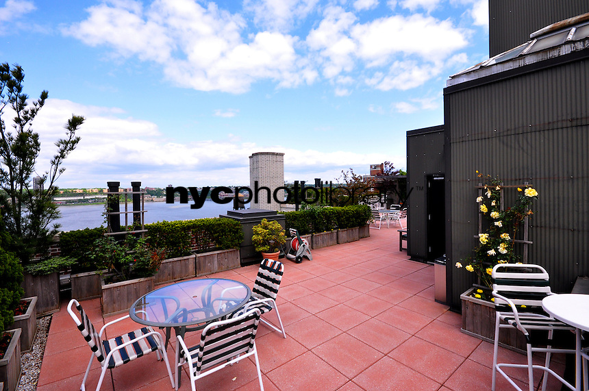 Roof Deck at 645 West End Avenue