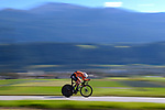 Ellen van Dijk (NED) speeds through the stunning Austrian scenery during the Elite Women Individual Time Trial of the 2018 UCI Road World Championships running 27.8km from Wattens to Innsbruck, Innsbruck-Tirol, Austria 2018. 25th September 2018.<br /> Picture: Innsbruck-Tirol 2018/Dario Belingheri | Cyclefile<br /> <br /> <br /> All photos usage must carry mandatory copyright credit (&copy; Cyclefile | Innsbruck-Tirol 2018/Dario Belingheri)