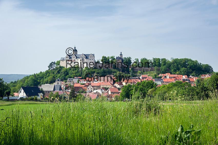 Germany, Thuringia, Ranis: Ranis Castle | Deutschland, Thueringen, Ranis: Burg Ranis