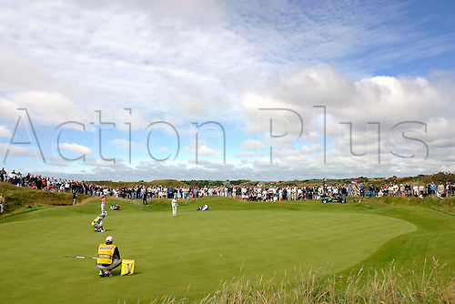 31 July 2005: General view of the  8th green during the Weetabix Women's British Open Championship played at Royal Birkdale. Photo: Glyn Kirk/Actionplus....050731 venues