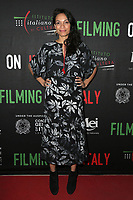 LOS ANGELES, CA - FEBRUARY 2: Rosario Dawson at the Social Justice Filming in Italy Awards at the Italian Cultural Institute in Los Angeles, California on February 2, 2018. <br /> CAP/MPI/DE<br /> &copy;DE//MPI/Capital Pictures