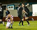 29/12/2010   Copyright  Pic : James Stewart.sct_jsp009_hamilton_v_aberdeen  .::  SCOTT VERNON CELEBRATES AFTER HE SCORES ABERDEEN'S LATE WINNER ::.James Stewart Photography 19 Carronlea Drive, Falkirk. FK2 8DN      Vat Reg No. 607 6932 25.Telephone      : +44 (0)1324 570291 .Mobile              : +44 (0)7721 416997.E-mail  :  jim@jspa.co.uk.If you require further information then contact Jim Stewart on any of the numbers above.........