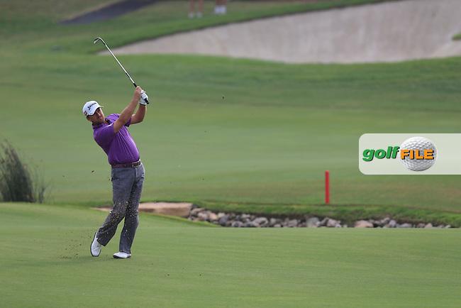 Graeme McDowell (NIR) during round 4 of the DP World, Tour Championship, Dubai, UAE.<br /> Picture: Fran Caffrey www.golffile.ie