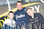 DOG NIGHT: John Thornton and Dean McMahon, Spa Road and Eric Guerin, Lisselarla enjoying dog night at the Lee Strand evening of racing at the Kingdom Greyhound Stadium on Friday night.   Copyright Kerry's Eye 2008