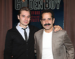 Seth Numerich & Tony Shalhoub attending the Meet & Greet for the Lincoln Center Theater's 75th Anniversary Production of 'Golden Boy' at their Rehearsal Studios on 10/25/2012 in New York.
