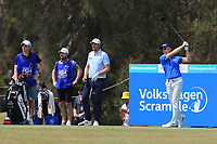 Brad Kennedy (AUS) on the 3rd tee during Round 3 of the Australian PGA Championship at  RACV Royal Pines Resort, Gold Coast, Queensland, Australia. 21/12/2019.<br /> Picture Thos Caffrey / Golffile.ie<br /> <br /> All photo usage must carry mandatory copyright credit (© Golffile | Thos Caffrey)