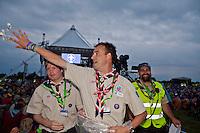 Closing ceremony at the jamboree. Photo: Kim Rask/Scouterna