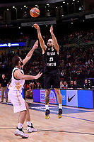 New Zealand Tall Blacks&rsquo; Ethan Rusbatch in action during the FIBA World Cup Basketball Qualifier - NZ Tall Blacks v Jordan at Horncastle Arena, Christchurch, New Zealand on Thursday 29 November  2018. <br /> Photo by Masanori Udagawa. <br /> www.photowellington.photoshelter.com