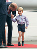 Prince George Suffers Stage Fright, Warsaw