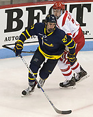 Patrick Kramer (Merrimack - 27), Charlie McAvoy (BU - 7) - The visiting Merrimack College Warriors defeated the Boston University Terriers 4-1 to complete a regular season sweep on Friday, January 27, 2017, at Agganis Arena in Boston, Massachusetts.The visiting Merrimack College Warriors defeated the Boston University Terriers 4-1 to complete a regular season sweep on Friday, January 27, 2017, at Agganis Arena in Boston, Massachusetts.