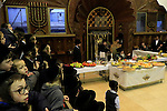 Tu B'shvat at the Premishlan congregation