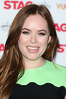 """Tanya Burr arrives for the premiere of """"The Stag"""" at the Vue Leicester Square, London. 13/03/2014 Picture by: Steve Vas / Featureflash"""