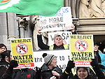 Anthony Connor at the Water protest march. Photo:Colin Bell/pressphotos.ie