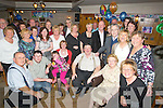 RETIRED: Noel Cronin, Tralee who retired from the Revenue Department, Tralee on Friday night and his collegues held a party for him to mark the special day, (noel is seated 3rd from right)...................