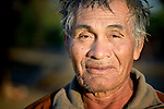 Felipe Juarez, a Wichi indigenous man in Santa Victoria Este, Argentina. The Wichi in this area have struggled for decades to recover land that has been systematically stolen from them by cattleraisers and large agricultural plantations.