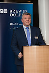 Johnny McGlynn, Director, Brewin Dolphin, Edinburgh. Brewin Dolphin ICAS event. 05 Dec 2017. © Copyright photograph by Tina Norris. Not to be archived or reproduced without prior permission and payment. Contact Tina on 07775 593 830 info@tinanorris.co.uk www.tinanorris.co.uk http://tinanorris.photoshelter.com