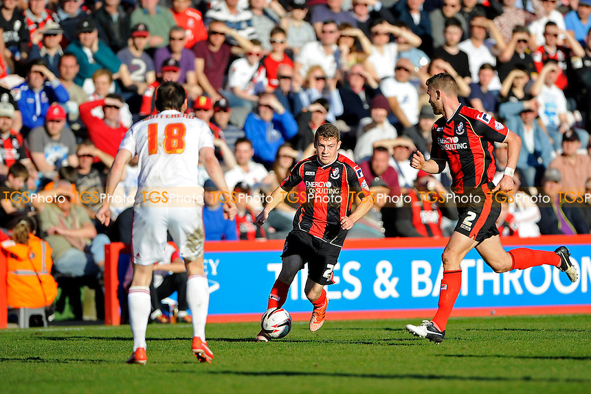 Ryan Fraser of AFC Bournemouth was lively after coming off the bench - AFC Bournemouth vs Middlesbrough - Sky Bet Championship Football at the Goldsands Stadium, Bournemouth, Dorset - 15/03/14 - MANDATORY CREDIT: Denis Murphy/TGSPHOTO - Self billing applies where appropriate - 0845 094 6026 - contact@tgsphoto.co.uk - NO UNPAID USE