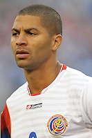 Alvaro Saborio (9) of Costa RIca at the presentation of the team. Honduras defeated Costa Rica 1-0 at the quaterfinal game of the Concacaf Gold Cup, M&T Stadium, Sunday July 21 , 2013.