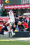 Yuto Nagatomo in action during the Serie A football match Inter Milan vs Cagliari at Milan, on February 23, 2014.  <br /> <br /> Pierre Teyssot