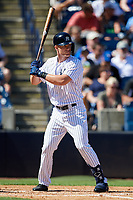 New York Yankees left fielder Trey Amburgey (94) at bat during a Grapefruit League Spring Training game against the Toronto Blue Jays on February 25, 2019 at George M. Steinbrenner Field in Tampa, Florida.  Yankees defeated the Blue Jays 3-0.  (Mike Janes/Four Seam Images)