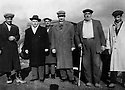 Turkey 1947 <br /> Kurds back to Piran  from exile, the 4th from the left, Hoshyar, son of Sheikh Mehdi<br /> Turquie 1947 <br /> Retour a Piran de  Kurdes en exil, le 4eme a partir de la gauche,Hoshyar, fils de sheikh Mehdi
