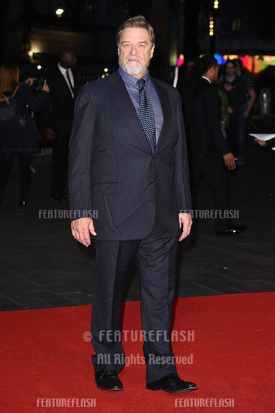 John Goodman at the premiere of &quot;Trumbo&quot;, as part of the London Film Festival 2015, at the Odeon Leicester Square, London.<br /> October 8, 2015  London, UK<br /> Picture: Steve Vas / Featureflash
