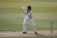 Tim Murtagh of Middlesex CCC plays into the cover area during Middlesex CCC vs Lancashire CCC, Specsavers County Championship Division 2 Cricket at Lord's Cricket Ground on 12th April 2019