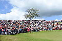 Part of the crowd on the 16th during Round 4 of Made in Denmark at Himmerland Golf &amp; Spa Resort, Farso, Denmark. 27/08/2017<br /> Picture: Golffile | Thos Caffrey<br /> <br /> All photo usage must carry mandatory copyright credit     (&copy; Golffile | Thos Caffrey)